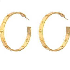 Tory Burch hoop earrings